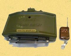 Remote control Claymore mine